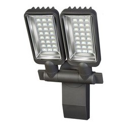Brennenstuhl led-strahler duo premium city sv5405, ip 44