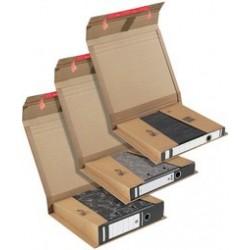 Colompac carton d'expédition pour classeur, marron, classeur (LOT DE 20)