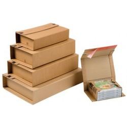 Colompac emballage d'expedition universel, pour jusqu'à 5 cd (LOT DE 20)