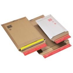 Colompac pochette d'expédition, en carton ondulé marron (LOT DE 20)