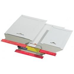 Colompac pochette d'expédition, en carton rigide blanc, a4 (LOT DE 20)