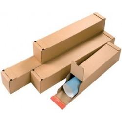 Colompac boîte d'expédition, pour format a1, couleur: marron (LOT DE 10)