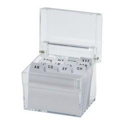 Maul boîte à fichier  acrylique a6, en verre transparent