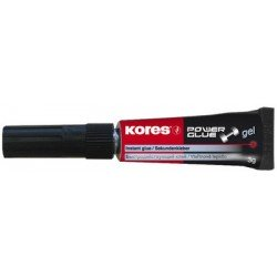 "Kores colle instantanée ""powerglue"" gel, 3 g, tube"