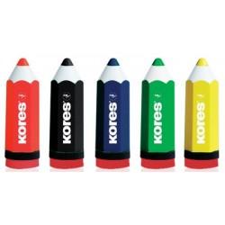 Kores taille-crayons kolorito, en forme de crayon,