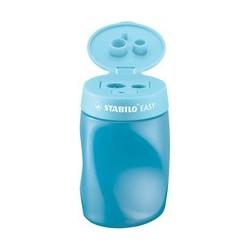 Stabilo taille-crayon à réservoir easysharpener, bleu,
