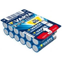 "Varta alkaline batterie ""high energy"" big box, mignon (aa)"