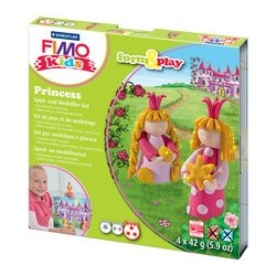 "Fimo kids kit de modelage form & play ""princess"", level 3"