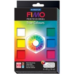"Fimo professional kit de pâte à modeler ""true colours"", set"